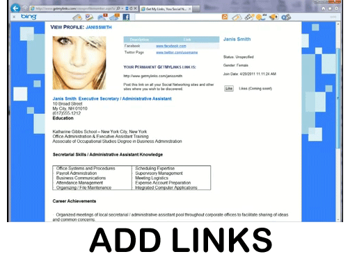 Add Links